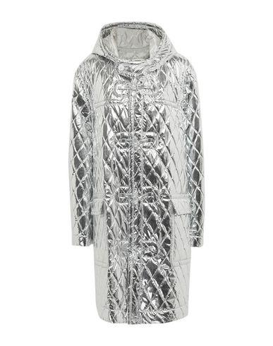 Купить Женское пальто или плащ  серебристого цвета