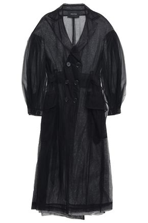 SIMONE ROCHA Double-breasted belted tulle jacket