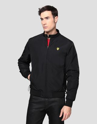 Scuderia Ferrari Online Store - Men's T3 LAMI-TECH padded jacket - Bombers & Track Jackets