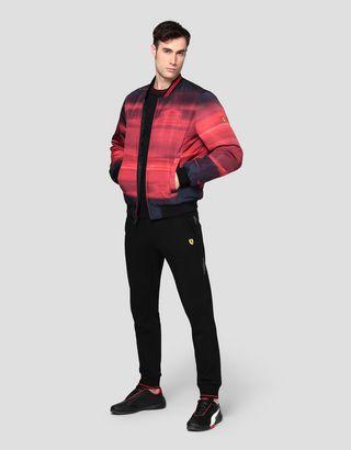 Scuderia Ferrari Online Store - Reversible men's bomber jacket - Bombers & Track Jackets