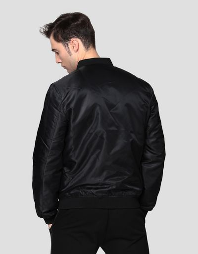 Reversible men's bomber jacket