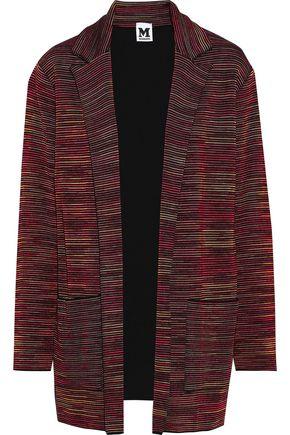 M MISSONI Oversized jacquard-knit wool-blend blazer