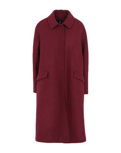 Фото - Женское пальто или плащ GUTTHA красно-коричневого цвета