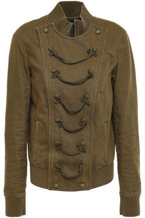 SAINT LAURENT Cotton-blend twill jacket