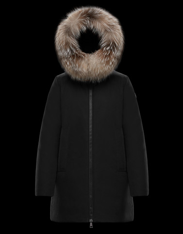 BLAVET Black Long Down Jackets