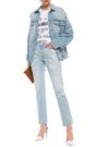 STELLA McCARTNEY Distressed denim jacket