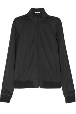 GIVENCHY Tech-jersey bomber jacket