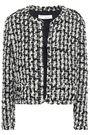 IRO 装飾付き メタリックブークレツイード ジャケット