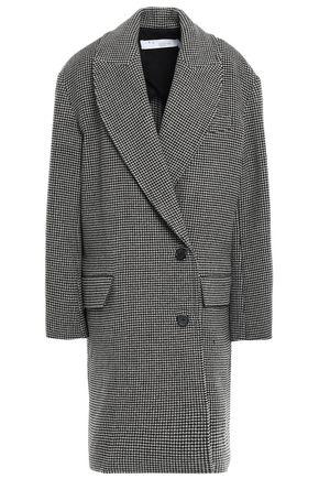 IRO Quip houndstooth wool-felt coat