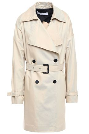 IRO Harper cotton-blend gabardine trench coat