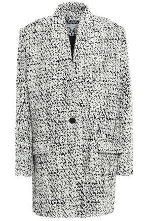 Golden Bouclé Tweed Coat by Iro