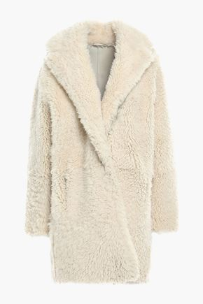 IRO Sunday reversible shearling coat