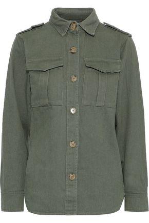LINE Raven cotton-blend gabardine jacket