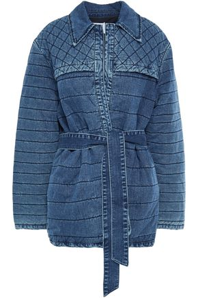 FRAME Quilted denim jacket