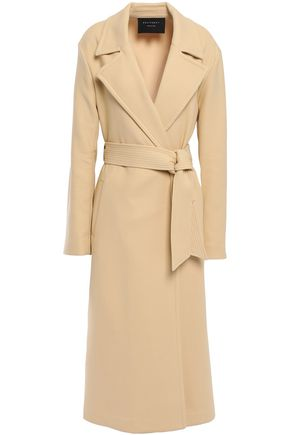 EQUIPMENT Alyssandra belted cotton-blend twill trench coat