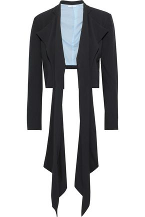 TOME Draped crepe jacket