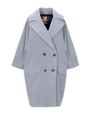 Купить Женское пальто или плащ MSGM светло-серого цвета