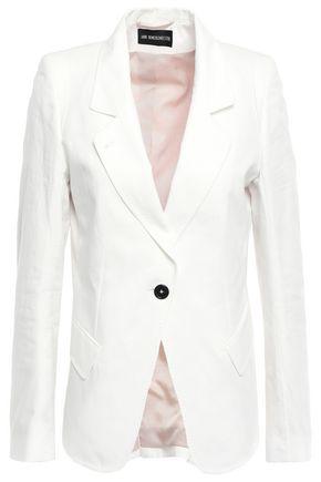ANN DEMEULEMEESTER Cotton-jacquard blazer
