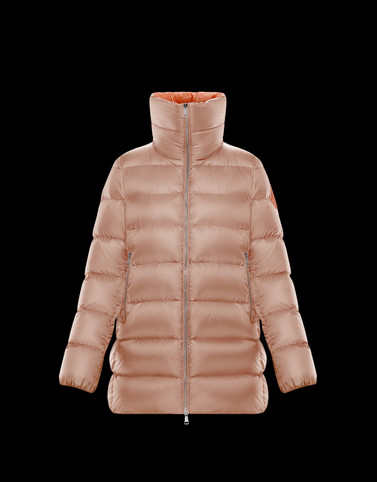 TORCON Salmon pink Long Down Jackets