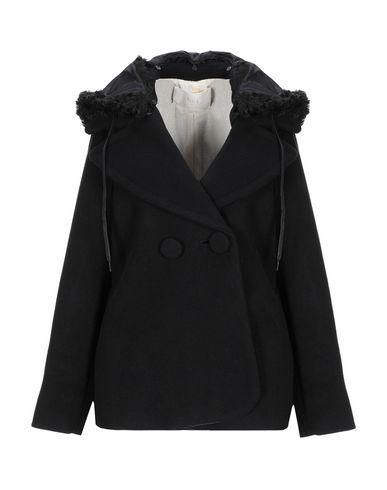 Купить Женское пальто или плащ TELA черного цвета