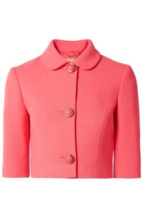 MICHAEL KORS COLLECTION Stretch-wool bouclé jacket
