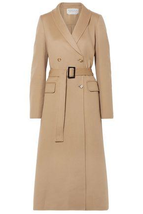 GABRIELA HEARST Belted cashmere-felt coat