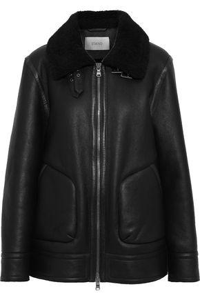 STAND STUDIO Roxy shearling jacket