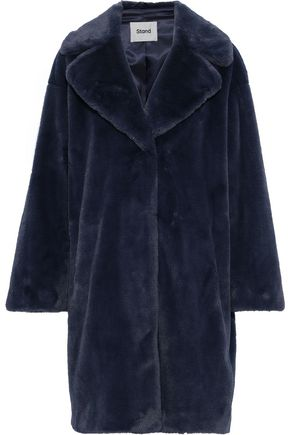 STAND STUDIO Camille Cocoon faux fur coat