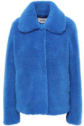 STAND STUDIO Gilbertine faux shearling coat