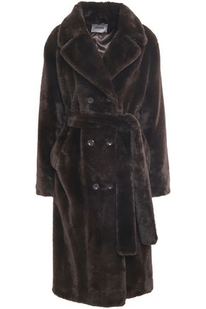 STAND STUDIO Faux shearling coat