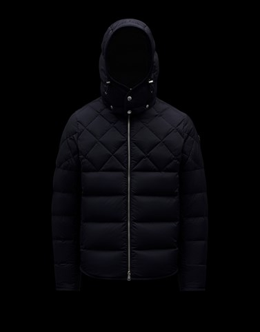 CECAUD Dark blue Down Jackets Man