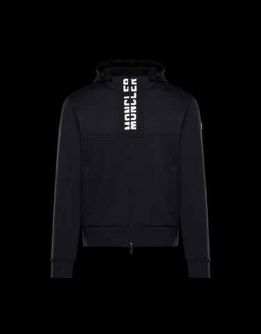 CARDIGAN Black Category HOODED SWEATSHIRTS Man
