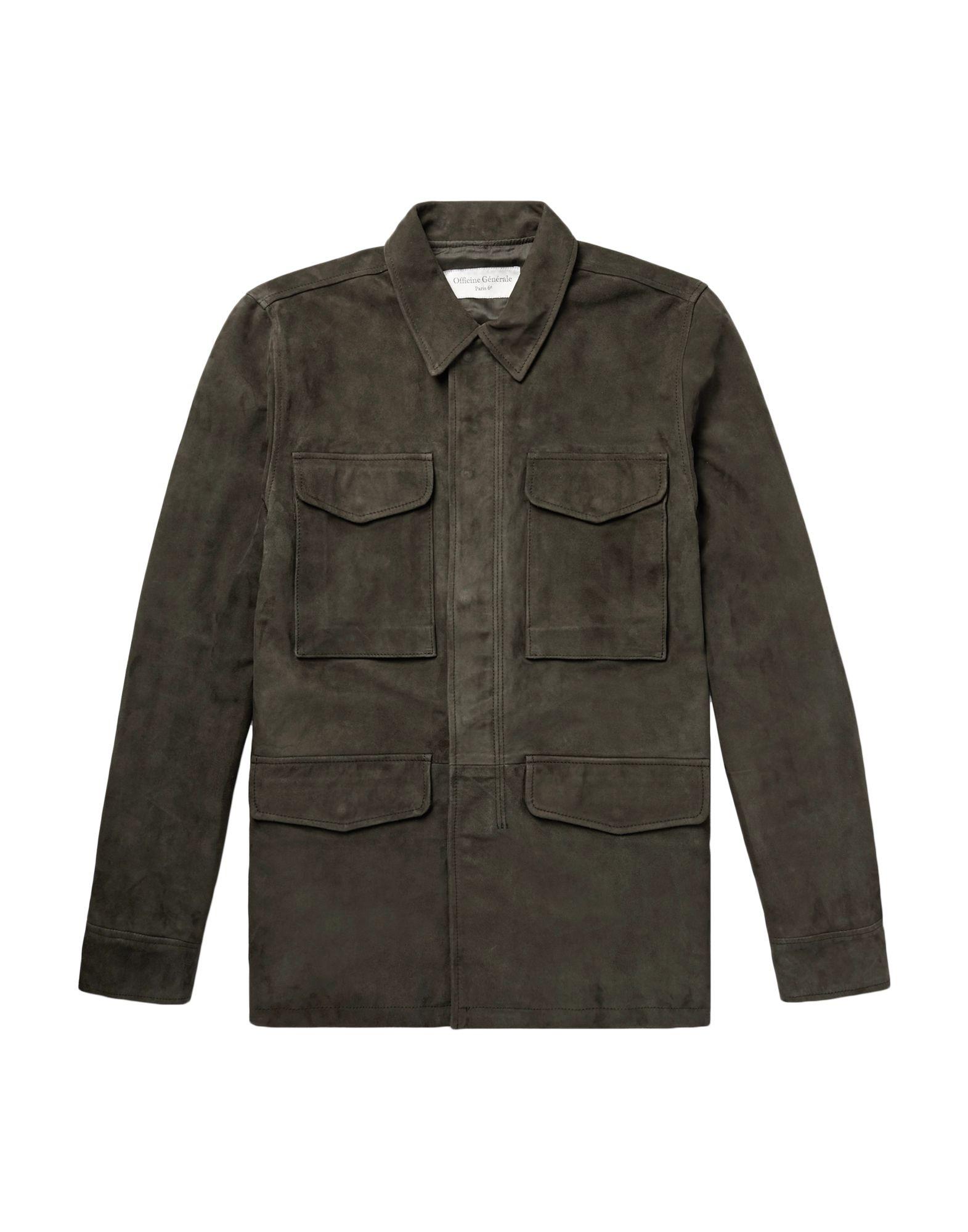 купить OFFICINE GÉNÉRALE Paris 6ᵉ Куртка по цене 57500 рублей