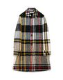 LANVIN Outerwear Man CHECKERED LODEN COAT f