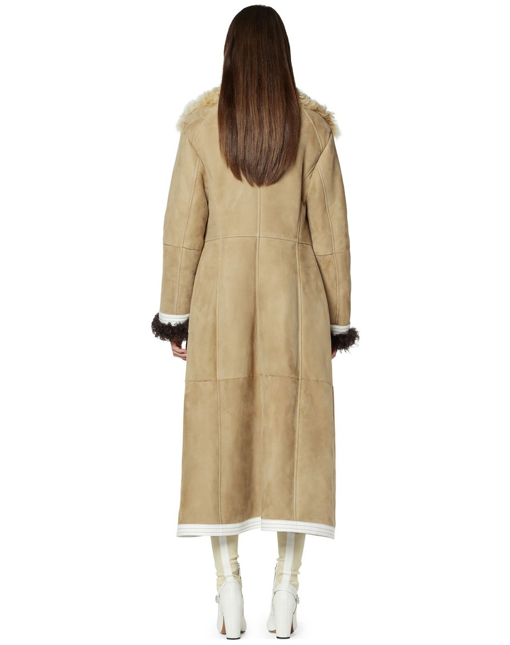 SHEARLING COAT  - Lanvin