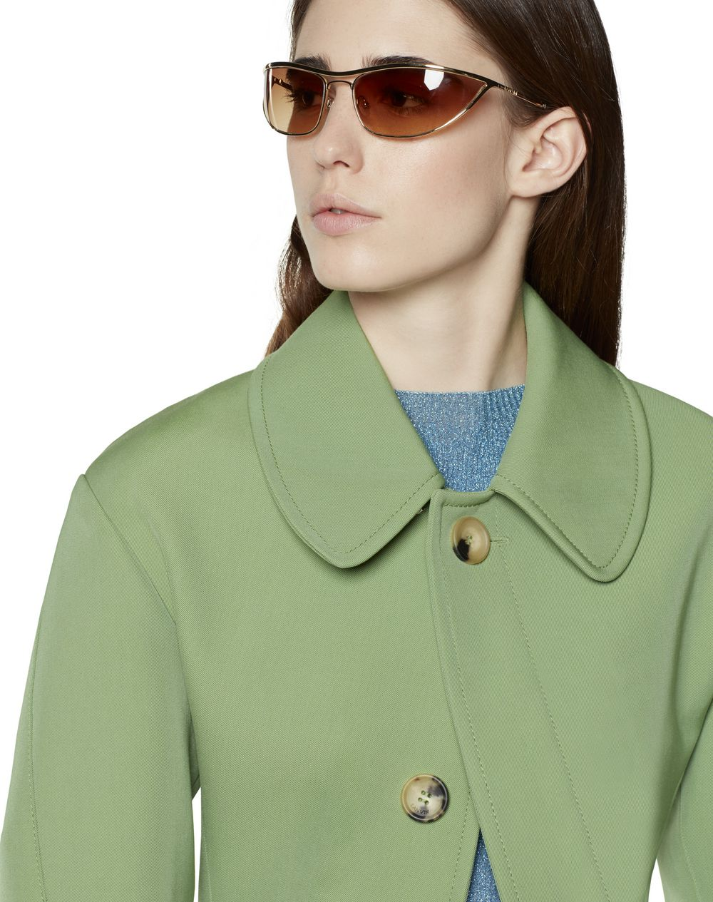 COAT WITH WOOL INSET - Lanvin