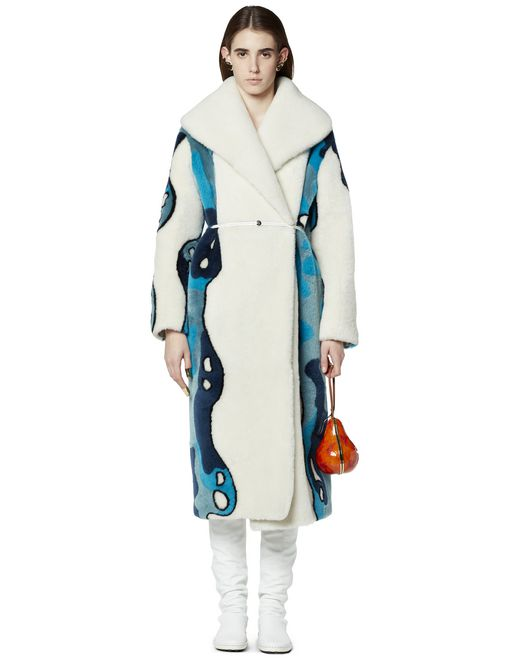 LONG FUR COAT  - Lanvin