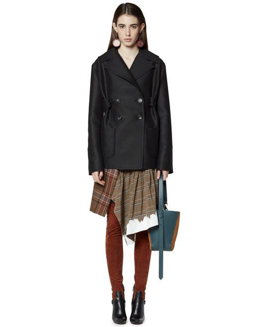 ベルト付き ウール製コート - Lanvin
