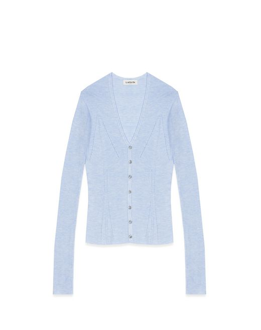 CASHMERE AND SILK CARDIGAN - Lanvin