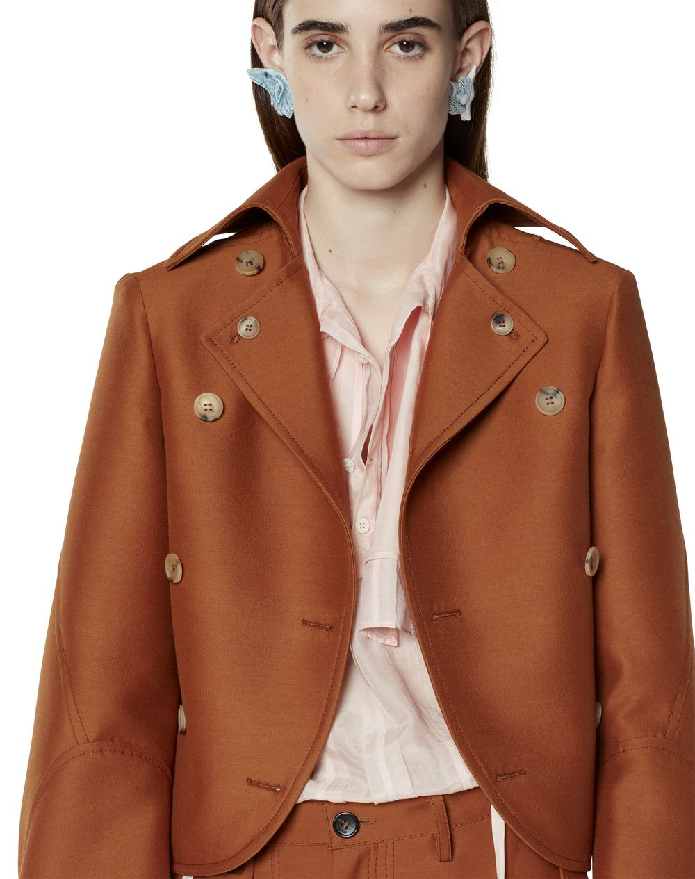 WOOL AND SILK JACKET - Lanvin