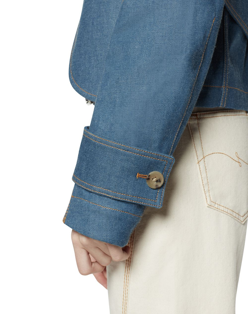 SHORT DENIM JACKET - Lanvin