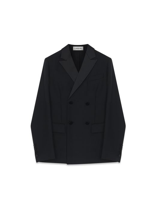 TAILORED DOUBLE-BREASTED JACKET - Lanvin