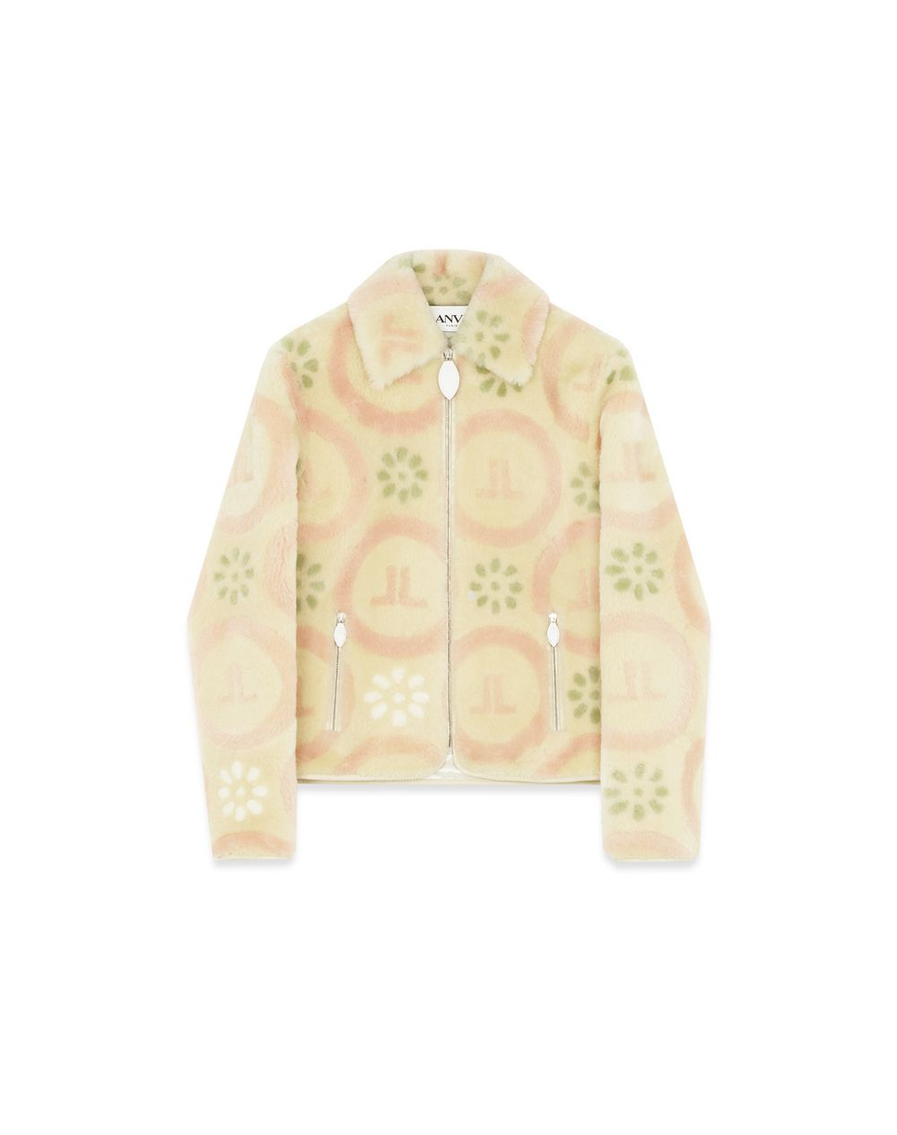 PRINTED SHEEP'S WOOL JACKET - Lanvin