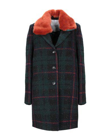 Фото - Женское пальто или плащ GRETHA Milano темно-зеленого цвета