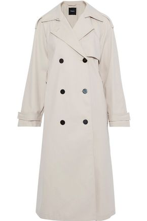 THEORY Gabardine trench coat