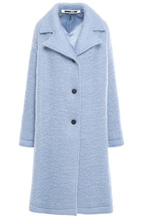 Brushed Wool Blend Coat by Mc Q Alexander Mc Queen
