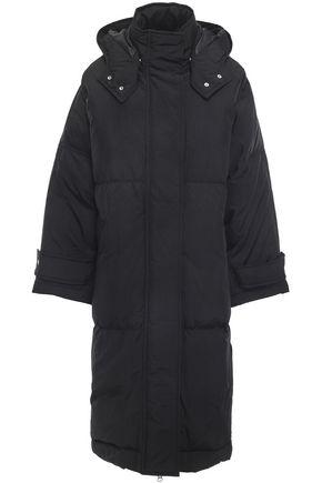 McQ Alexander McQueen Oversized shell hooded down coat