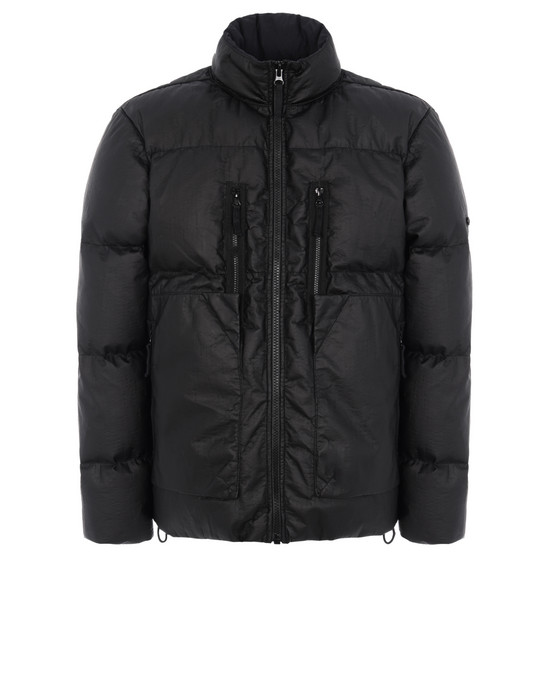 STONE ISLAND SHADOW PROJECT 40504 DOWN JACKET Mid-length jacket Man Black