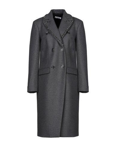Фото - Женское пальто или плащ  серого цвета