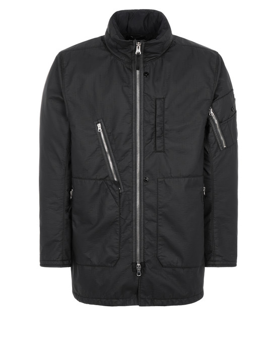 STONE ISLAND SHADOW PROJECT 40904 3/4 JACKET Mid-length jacket Man Black